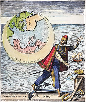 Columbus: Tribute, 1621 Poster by Granger