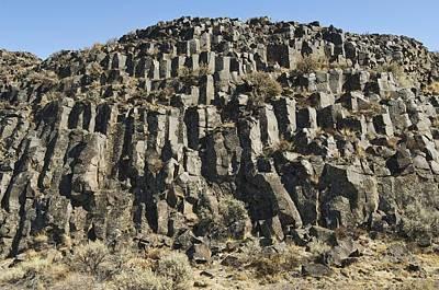 Columnar Basalt Formation Poster by Kaj R. Svensson
