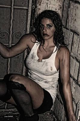 Concrete Velvet 31 Poster by Donna Blackhall
