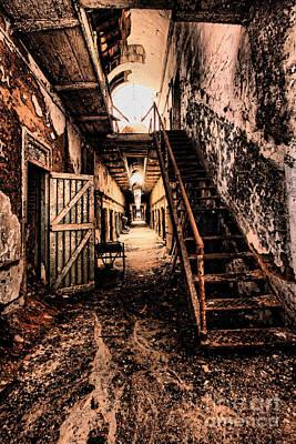 Corridor Creep Poster by Andrew Paranavitana