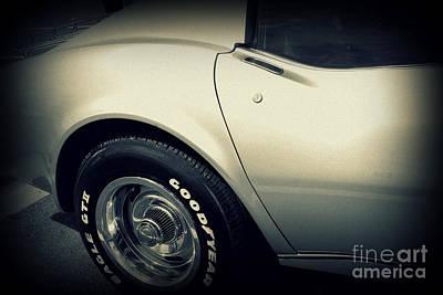 Corvette Poster by Susanne Van Hulst