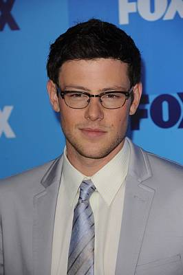 Cory Monteith At Arrivals For Fox Poster by Everett