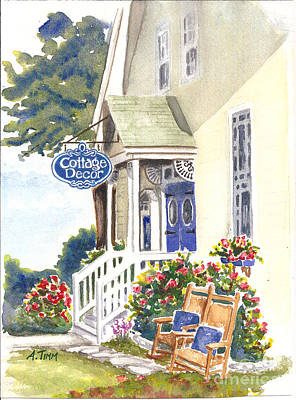 Cottage Decor Poster by Andrea Timm