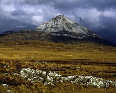 County Donegal, Mount Errigal, Ireland Poster by The Irish Image Collection