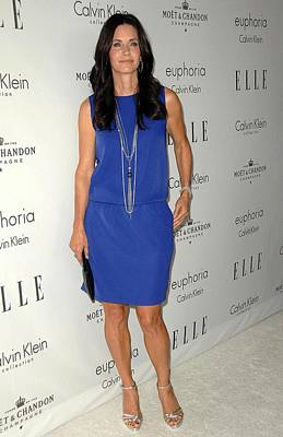 Courteney Cox At Arrivals For 15th Poster by Everett