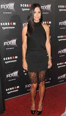 Courteney Cox Wearing The Row Poster by Everett