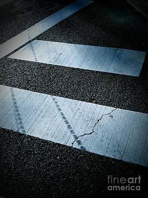 Crosswalk Poster by Eena Bo