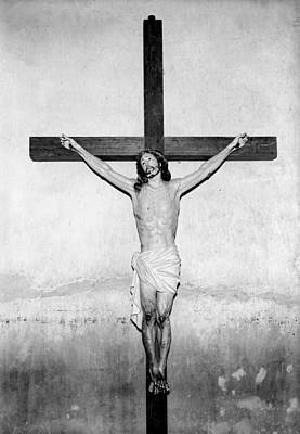 Crucifix, San Xavier Del Bac Mission Poster by Everett