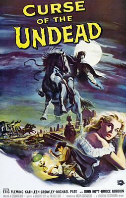 Curse Of The Undead, Bottom Right Poster by Everett