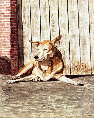 Daisy Dog Poster by Wendy McKennon