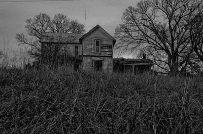 Dark Homestead Poster by Victoria Lawrence