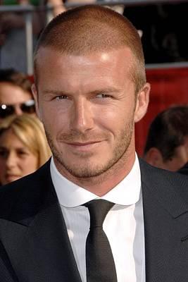 David Beckham At Arrivals For Arrivals Poster by Everett