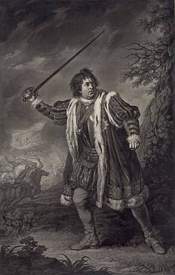 David Garrick 1717-1779, English Actor Poster by Everett