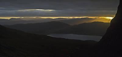 Dawn Breaks Over Loch Kishorn Poster by Gary Eason