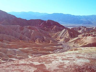 Death Valley Mountains 2 Poster by Naxart Studio