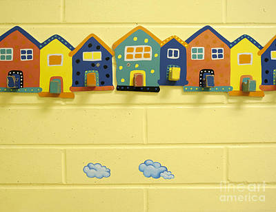 Decorative Coat Hooks Poster by Marlene Ford