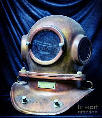 Deep Sea Dive Helmet Poster by Paul Ward