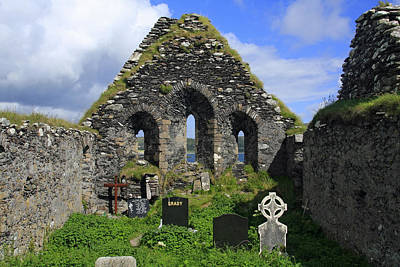 Derrynane Abbey Poster by Aidan Moran