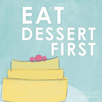 Dessert Poster by Linda Woods