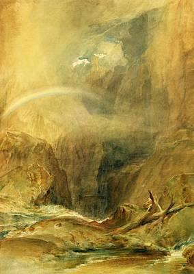 Devil's Bridge Poster by Joseph Mallord William Turner