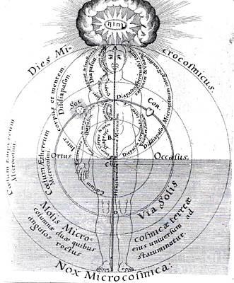 Dies Microcosmicus, Nox Microcosmica Poster by Science Source