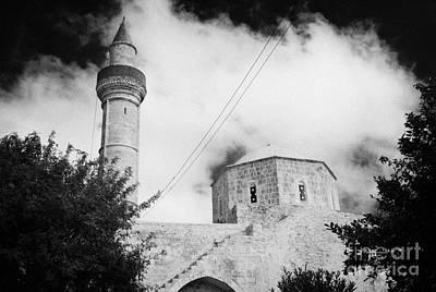 Djami Kabir Mosque In Paphos Republic Of Cyprus Europe Poster by Joe Fox