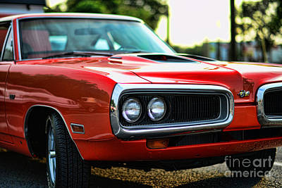 Dodge Super Bee Classic Red Poster by Paul Ward