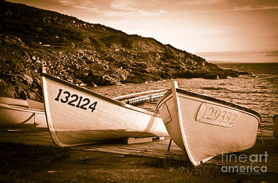 Dories Poster by Gordon Wood