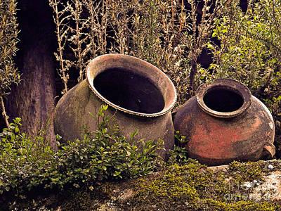 Dos Chorreras Pottery Poster by Al Bourassa