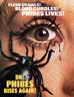 Dr. Phibes Rises Again, 1972 Poster by Everett