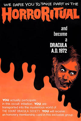 Dracula A.d. 1972, Lower Right Poster by Everett