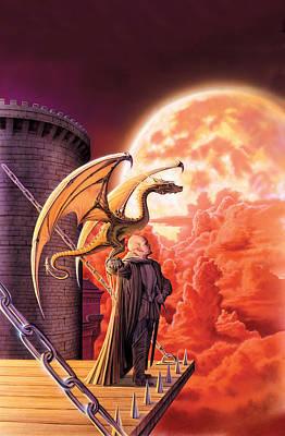 Dragon Lord Poster by The Dragon Chronicles - Robin Ko