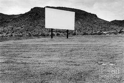 Drive In Movie Theater  Poster by Homer Sykes