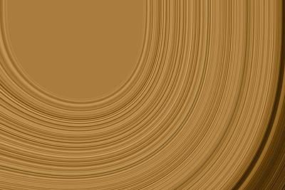 Earthy Swirls Poster by Bonnie Bruno