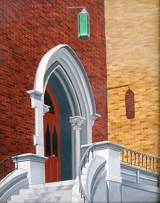 East Entrance Kirkland Hall Poster by Dillard Adams