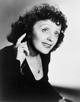 Edith Piaf 1915-1963, French Ballad Poster by Everett