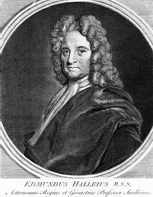 Edmond Halley, English Polymath Poster by Science Source