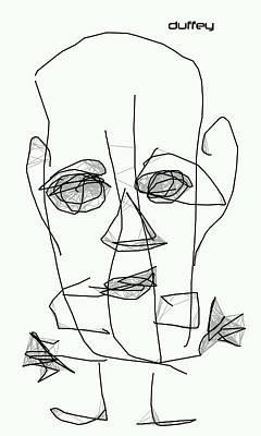 Egoist Poster by Doug  Duffey