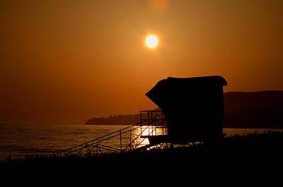 El Capitan Beach Sunset Poster by Joshua Benk