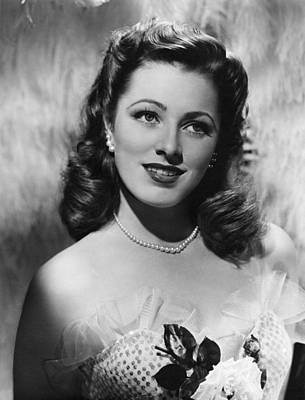 Eleanor Parker, Ca. 1940s Poster by Everett