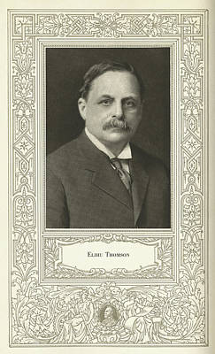 Elihu Thomson (1853-1937), American Engineer Poster by Science, Industry & Business Librarynew York Public Library
