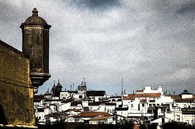 Elvas Castle And Village  Poster by Agostinho Goncalves