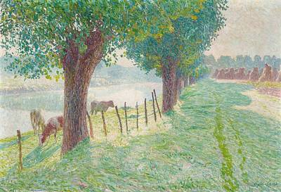 End Of August Poster by Emile Claus
