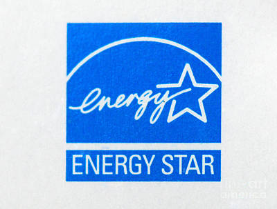 Energy Star Logo Poster by Photo Researchers, Inc.