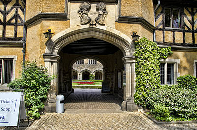 Entrance To Cecilienhof Palace Poster by Jon Berghoff
