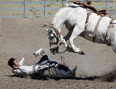Equine Revenge Poster by Luc Novovitch