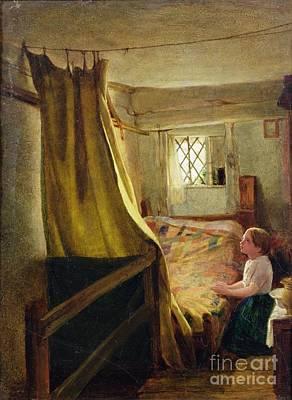 Evening Prayer  Poster by John Bagnold Burgess