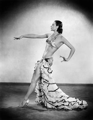 Exotic Dancer Poster by Sasha