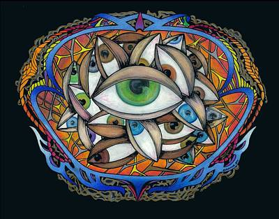 Eyetopia Poster by Steve Weber