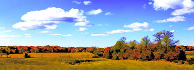 Fall Poster by Photography Art